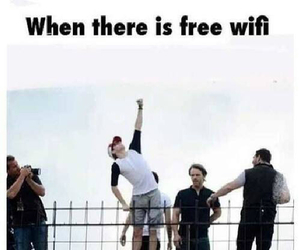 one direction, niall horan, and wifi image