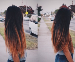 hair, fashion, and goals image