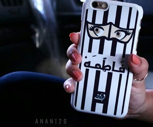 case, nail art, and فاطمة image