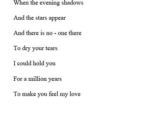 promise, make you feel my love, and adele-feel my love image