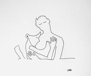 amor, arte, and dibujo image