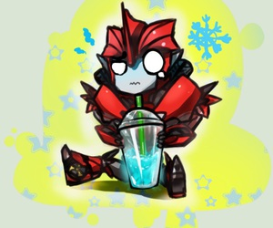 adorable, animation, and BRAIN FREEZE image