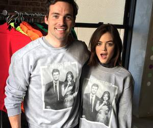 personal, lucy hale, and ian harding image