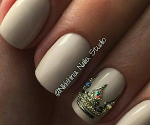 nails, nails art, and manicure image