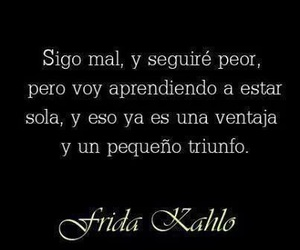 frases, frida kahlo, and triunfo image