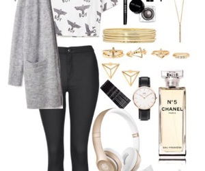 black, fashion, and channel image
