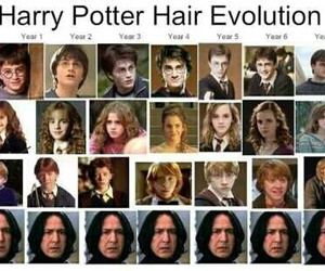 harry potter, hair, and funny image