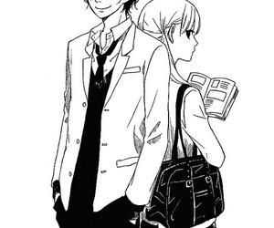 anime and tonari no kaibutsu kun image