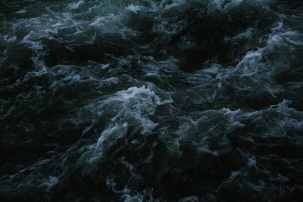 dark, ocean, and sea image