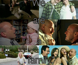 breaking bad, Walter, and we are a family image