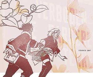 obito uchiha, obirin, and rin nohara image