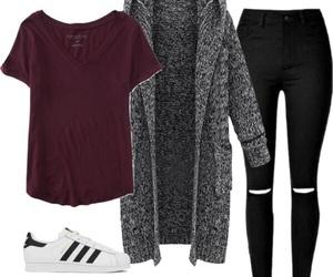 fashion, look, and стиль image