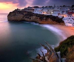 beach, portugal, and algarve image