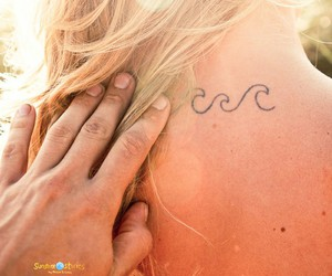 ocean, tattoo, and pretty image