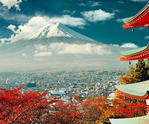 beautiful, wanderlust, and fuji image