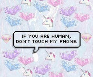unicorn, wallpaper, and phone image