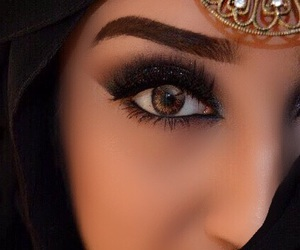 black, hijab, and perfect image