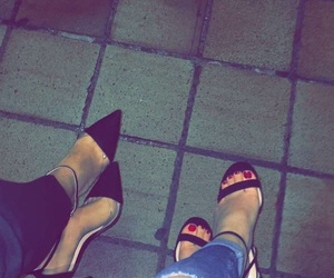 friday, heels, and out image