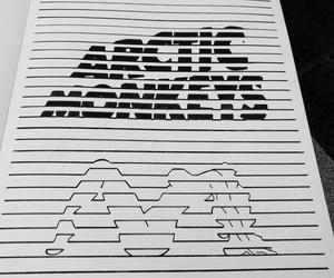 arctic monkeys, art, and indie image