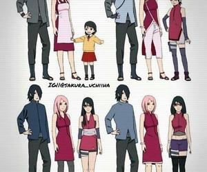 family and uchiha image