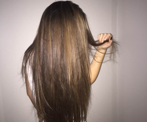 hair, clothes, and girl image