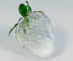 strawberry, ice, and fruit image