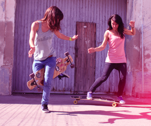 skate and girls image