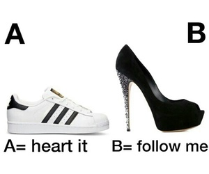 adidas, shoes, and follow image