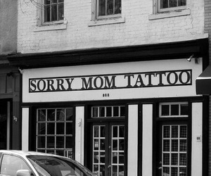 tattoo, sorry, and mom image