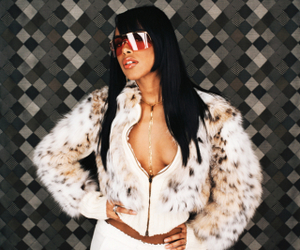 aaliyah, fashion, and old school image