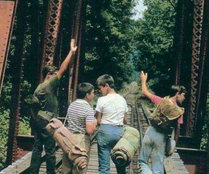 stand by me, 80s, and friends image