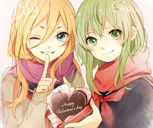 vocaloid, lily, and gumi image