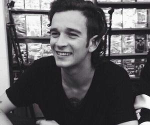 the 1975, matty healy, and smile image