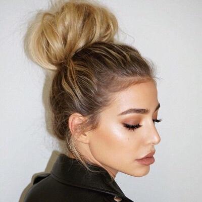 girl, makeup, and style image