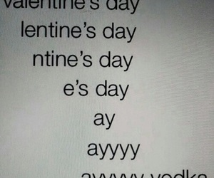 vodka, Valentine's Day, and funny image