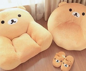 cute, bear, and rilakkuma image