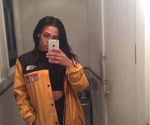 goals, jacket, and style image