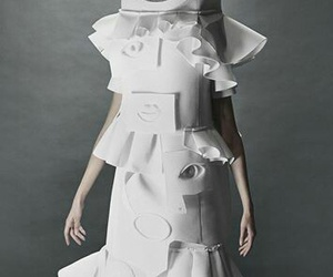 Couture, white, and sculptures image