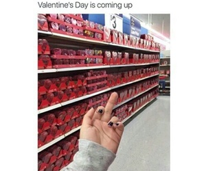 Valentine's Day, single, and funny image
