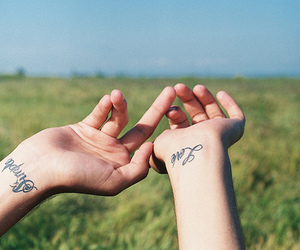 ink, simple, and love image