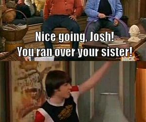 drake and josh, funny, and Drake image