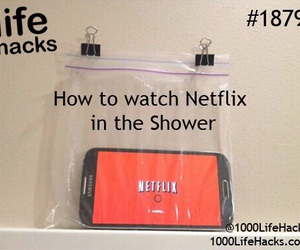goals, phone, and shower image
