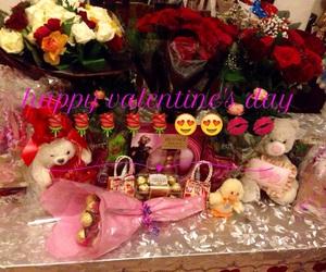cosmetics, romantic, and teddy bear image