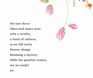 dance, flowers, and poem image