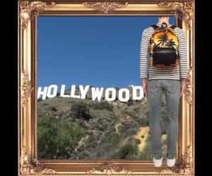 backpack, hollywood, and luxury image