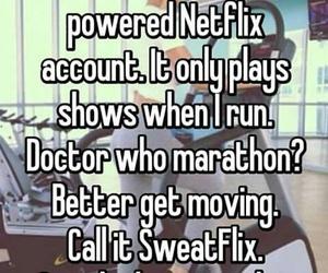 Marathon, netflix, and running image