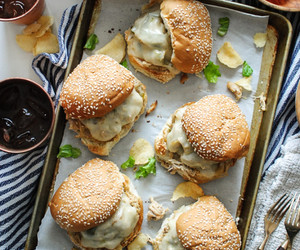 Chicken, food, and sandwiches image