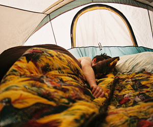 boy, sleep, and tent image