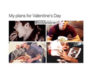 teen wolf, food, and Valentine's Day image