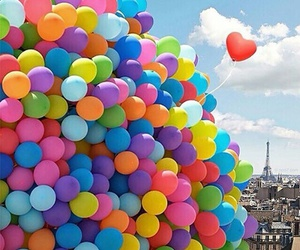 amazing, balloons, and colorful image